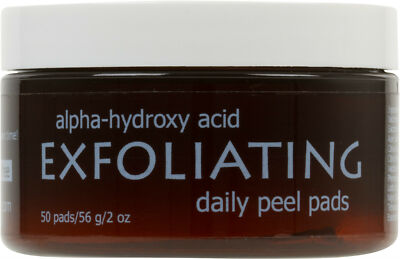 Sheer Miracle Alpha Hydroxy Acid AHA Exfoliating Peel Pads *All Natural 50ct