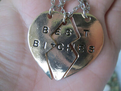 Best Bitches 3 peice Necklace
