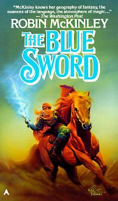 The Blue Sword by Robin McKinley (1987, Paperback)