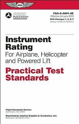 Instrument Rating for Airplane, Helicopter and Powered Lift by Federal...