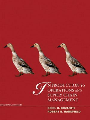 Introduction to Operations and Supply Chain Management, Bozarth, Cecil, Handfie