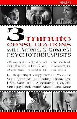 3 Minute Consultations with America's Greatest Psychotherapists, Aronson, Jason