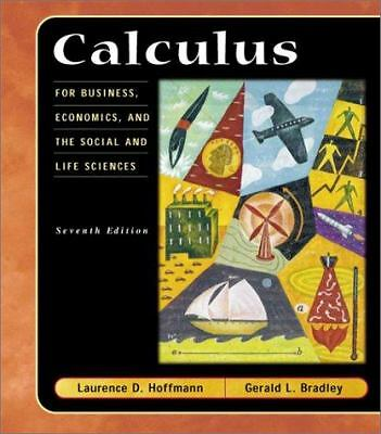 Calculus for Business, Economics, and the Social and Life Sciences, Hoffmann, L