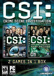 CSI/CSI: Dark Motives Double Pack - PC, Ubisoft