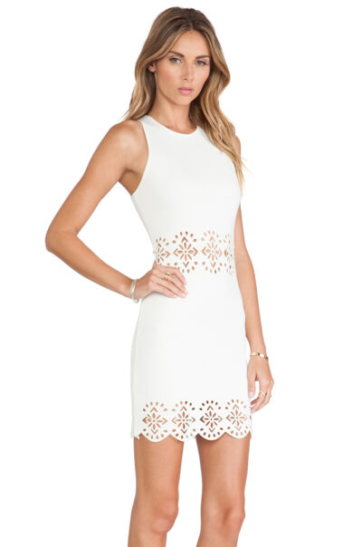 Lovers + Friends Stella Dress Ivory  ** Choose Your Size**
