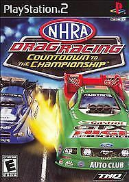NHRA Drag Racing: Countdown to the Championship  (Sony PlayStation 2) Tested CIB