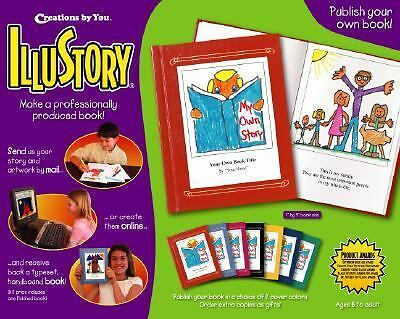 NIP illustory : Write and Illustrate Your Own Professional Book (6 + )!