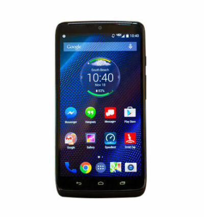 Motorola Droid Turbo (Latest Model) - 64GB - Black Ballistic Nylon (Verizon)...