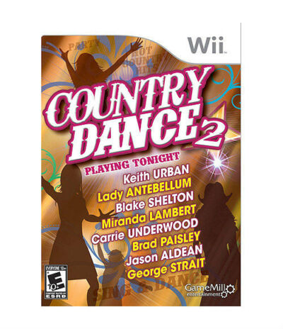 Country Dance 2 - Nintendo Wii, Game Mill