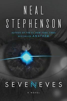 Seveneves by Neal Stephenson (2015, Hardcover) SIGNED/DATED 1st edition