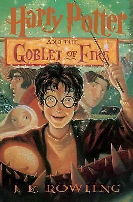 Harry Potter and the Goblet of Fire (Book 4), J.K. Rowling