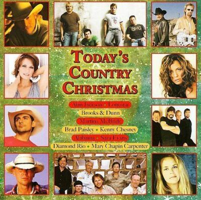 Today's Country Christmas by Various Artists (CD, Jan-2007, Sony BMG)