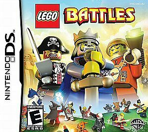 Battles LEGO Nintendo DS w/ case and manual - used