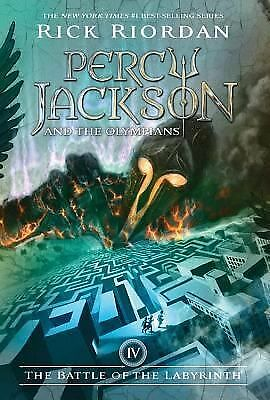 The Battle of the Labyrinth (Percy Jackson and the Olympians, Book 4), Riordan,