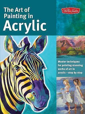 ART OF PAINTING IN ACRYLIC - NEW PAPERBACK BOOK