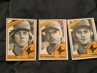 1977 Bristol RedSox minor league set - ex to near mint