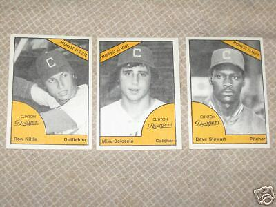 1977 Clinton Dodgers minor league set - Extremely Rare
