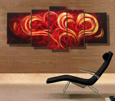 Modern contemporary abstract painting,metal wall art sculpture,wall hanging deco