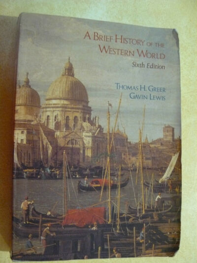 A Brief History of the Western World by Gavin Lewis & Thomas H Greer