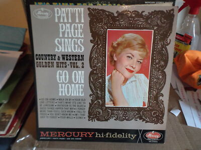PATTI PAGE Mercury MG 20689 LP Country & Western Golden Hits Vol 2