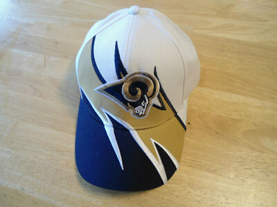 NFL SHARKTOOTH STYLE HAT ST LOUIS RAMS
