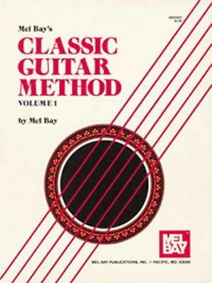 Mel Bay Classic Guitar Method Volume 1, Mel Bay, Acceptable Book