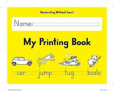 My Printing Book by Handwriting Without Tears (2013), Jan Z. Olsen, Good Book
