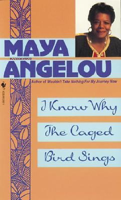 I Know Why the Caged Bird Sings by Maya Angelou 1983 Trade Paperback 1st/Later