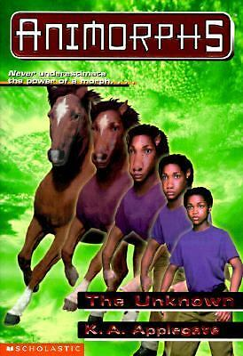 ANIMORPHS The Unknown No. 14 by K. A. Applegate 1998 PB- on Base 91