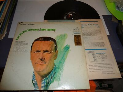 Eddy Arnold RCA Victor LSP-3869 LP Record Turn the World Around 1967