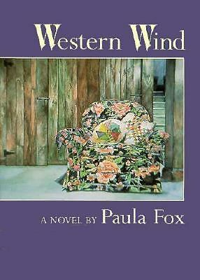 Western Wind by Paula Fox (1993, Hardcover) $14.99