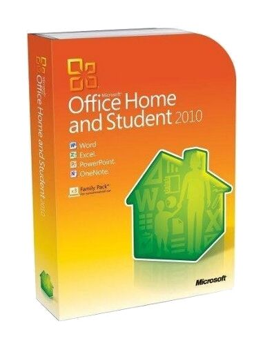 Microsoft Office Home and Student 2010 family pack Unopened for Windows
