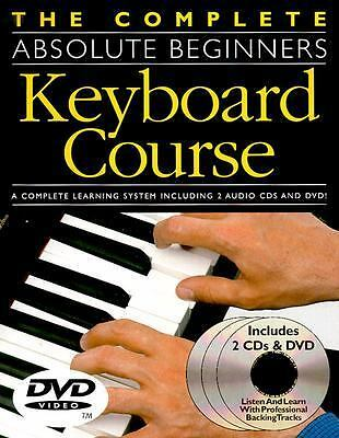 Absolute Beginners Keyboard Course (BK/CD/DVD) (Complete Absolute Beginners Cour