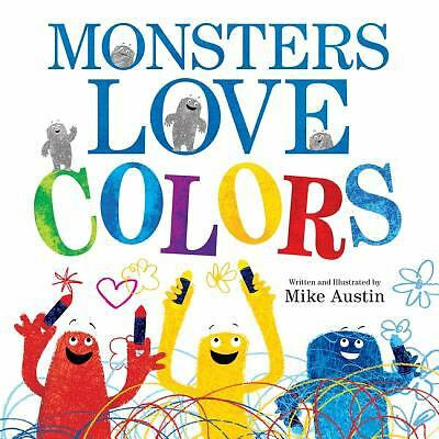 Monsters Love Colors, Austin, Mike, Acceptable Book