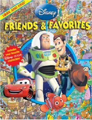 Look and Find: Disney Friends & Favorites (Look and Find Book), Editors of Publi