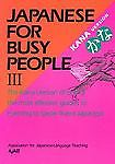 Japanese for Busy People III: Kana Text (Japanese for Busy People Series), AJALT