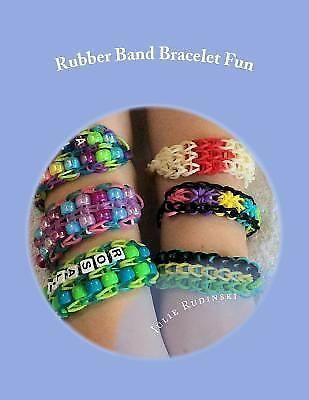 Rubber Band Bracelet Fun, Rudinski, Julie, Acceptable Book