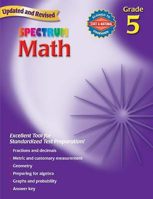 Spectrum Math, Grade 5 Richards, Thomas