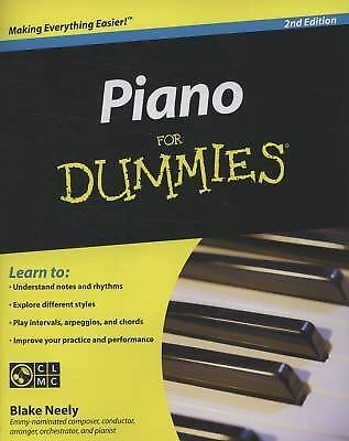 Piano For Dummies Neely, Blake
