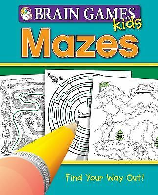 Brain Games for Kids: Mazes (Brain Games Kids)