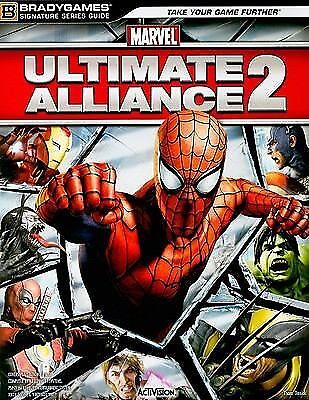 Marvel: Ultimate Alliance 2 BradyGames Signature Series Guide)