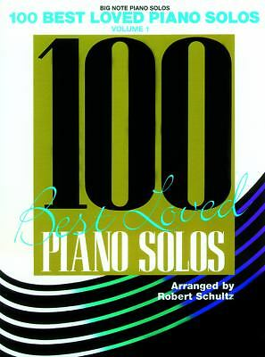 100 Best Loved Piano Solos / Big Note