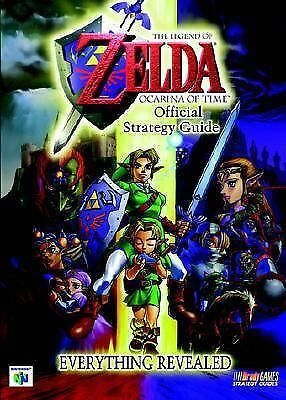 The Legend of Zelda: Ocarina of Time Official Strategy Guide Bradygames Strateg