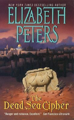 The Dead Sea Cipher by Elizabeth Peters (2001, Paperback)
