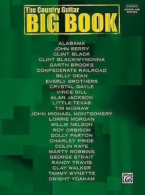 The Country Guitar Big Book: Authentic Guitar TAB
