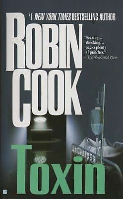 Toxin by Robin Cook (1999, Paperback, Reprint)