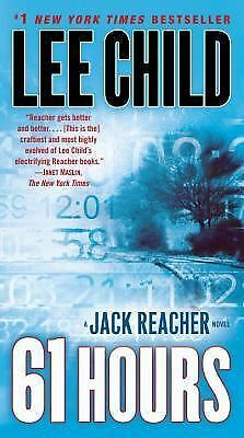 61 Hours by Lee Child (Jack Reacher, 2010, Paperback)
