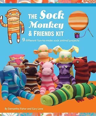 Sock Monkey and Friends Kit Fisher, Samantha, Lane, Cary