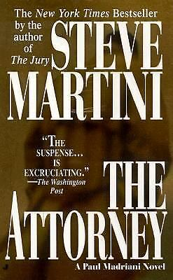 The Attorney by Steve Martini (2001, Paperback)