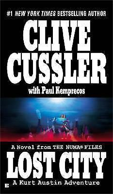 Lost City (Dirk Pitt Adventures) by Clive Cussler (2005, Paperback)